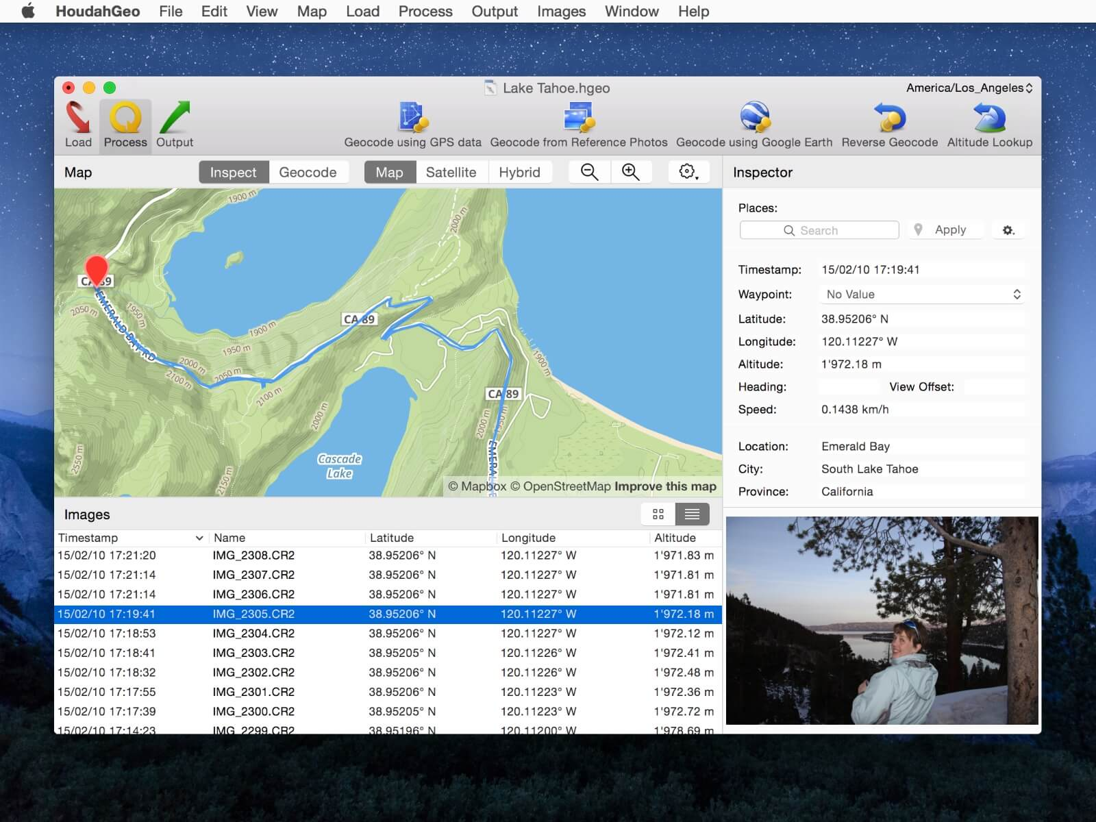 HoudahGeo 5.0: Photo geotagging for Mac - Know where you took that photo Image
