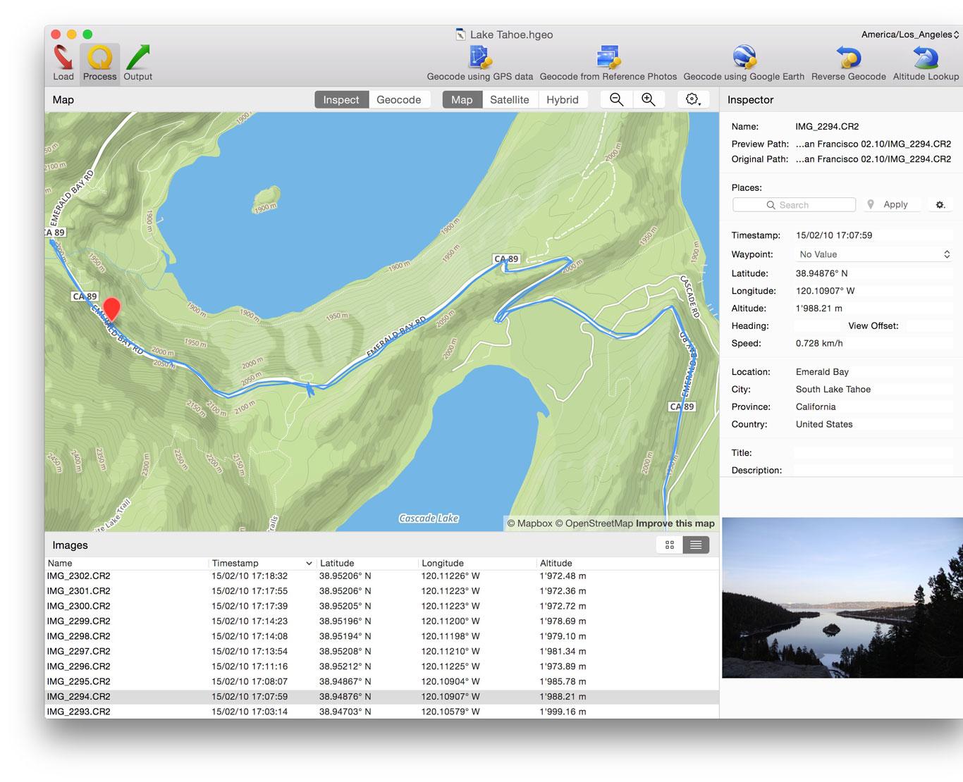 HoudahGeo — Geocode & Geotag  Add Locations to Apple Photos